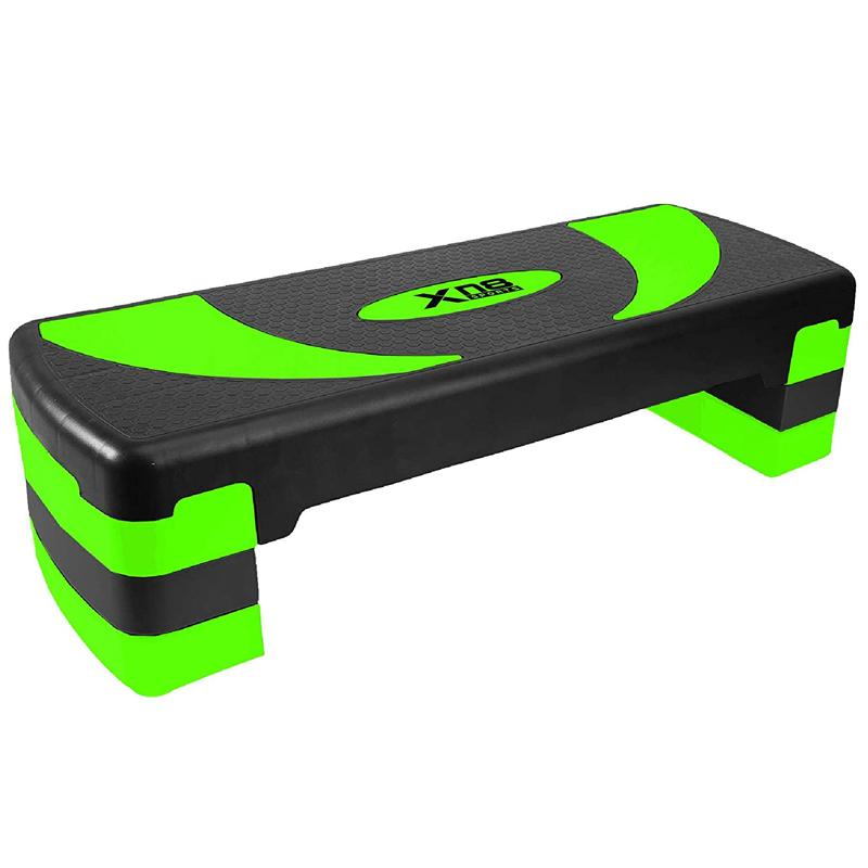 Xn8 Sports Aerobic Stepper Platform Lime Green