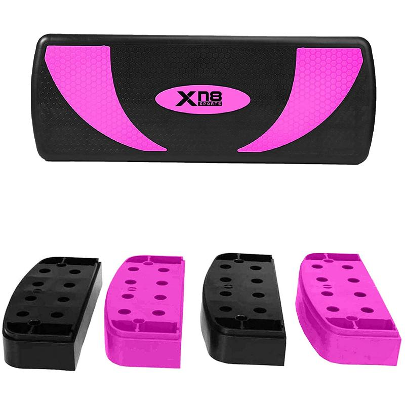 Xn8 Sports Aerobic Stepper Platform Pink Color