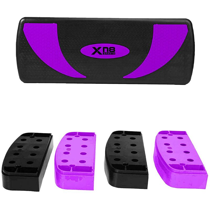 Xn8 Sports Exercises With Aerobic Stepper Purple