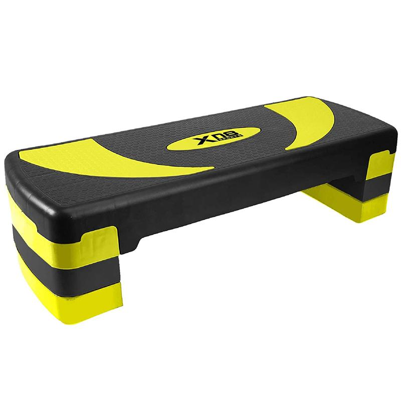 Xn8 Sports Aerobic Stepper Workout Yellow Color