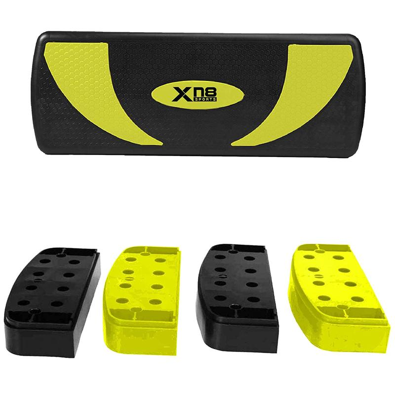 Xn8 Sports Aerobic Stepper Risers Yellow Color