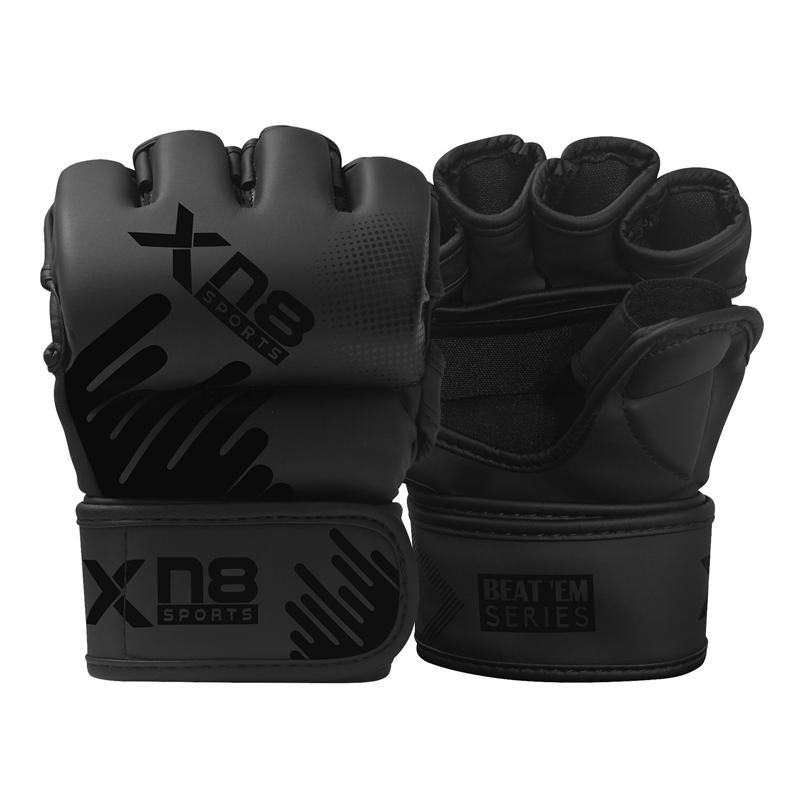 Xn8 Sports MMA Gloves Color Black