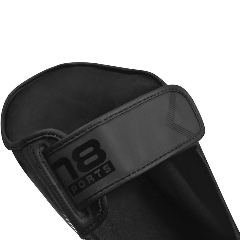 Xn8 Sports Shin Guards Kids Black