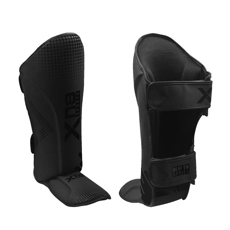 Xn8 Sports Shin Guards Black