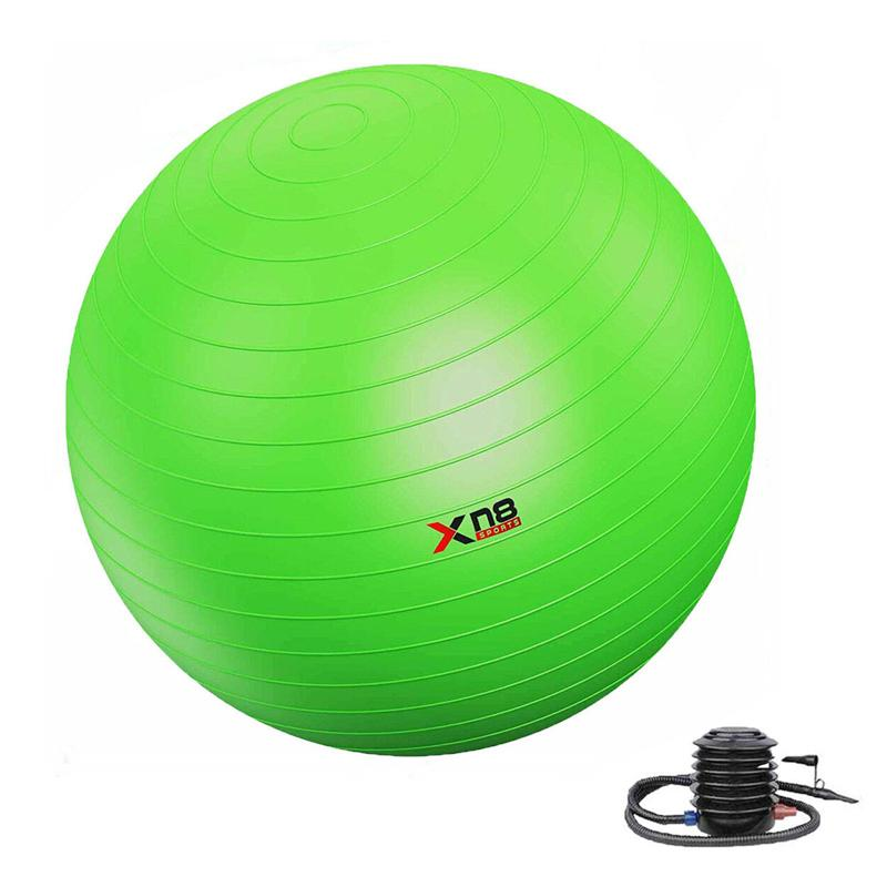 Xn8 Sports Gym Ball Workout Lime Green Color