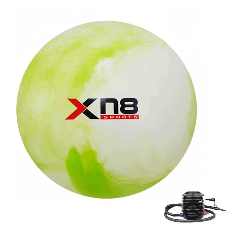 Xn8 Sports Small Gym Ball Color Rainbow Lime Green