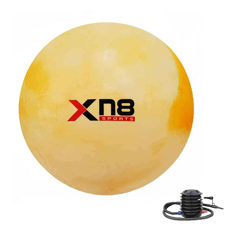 Xn8 Sports Gym Ball Chair Color Rainbow Orange