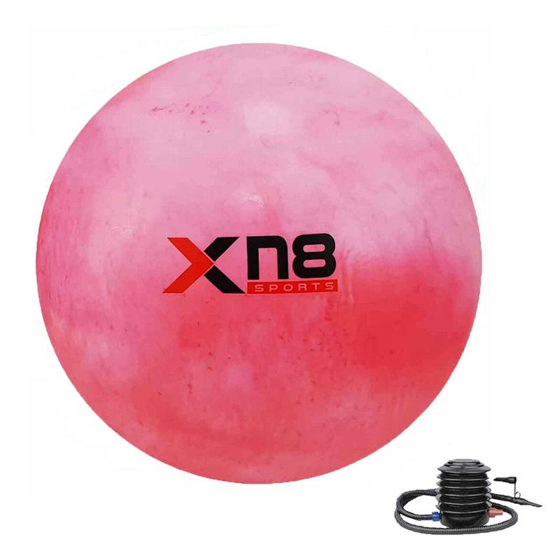 Xn8 Sports Anti Burst Gym Ball Color Rainbow Red