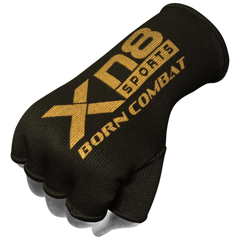 Xn8 Sports Hand With Gloves Black Gold Color