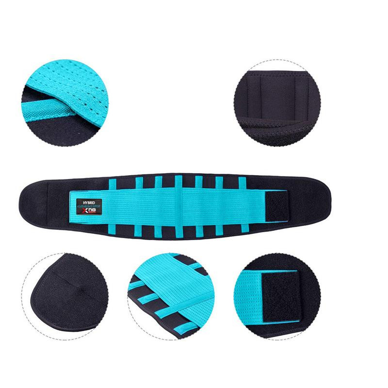 Xn8 Sports Lower Back Support Belt Blue Color