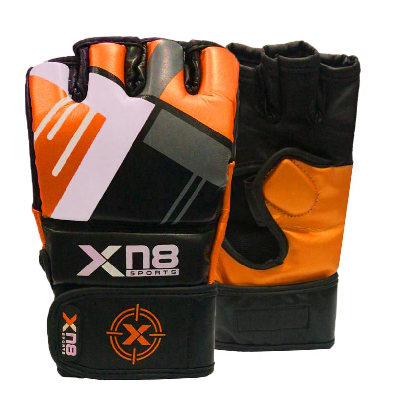 Xn8 Sports MMA Gloves Orange Color