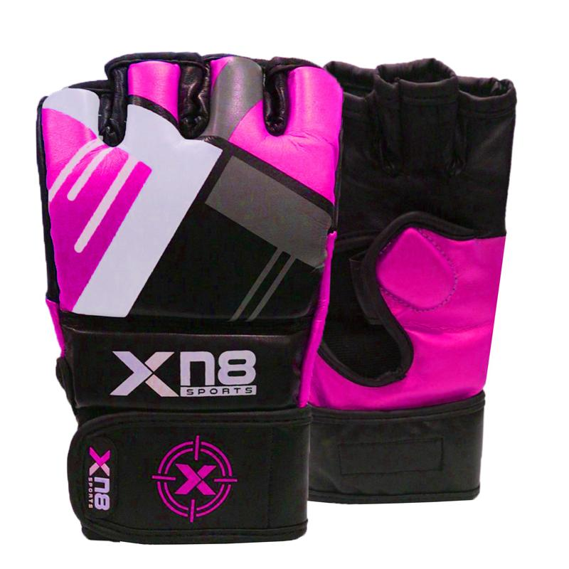 Xn8 Sports Boxing MMA Gloves Pink