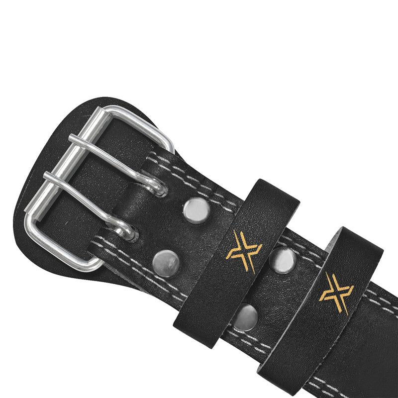 Xn8 sports Weight Lifting Belt Leather Black