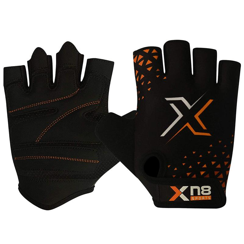 Xn8 Sports Weight Lifting Gloves Orange