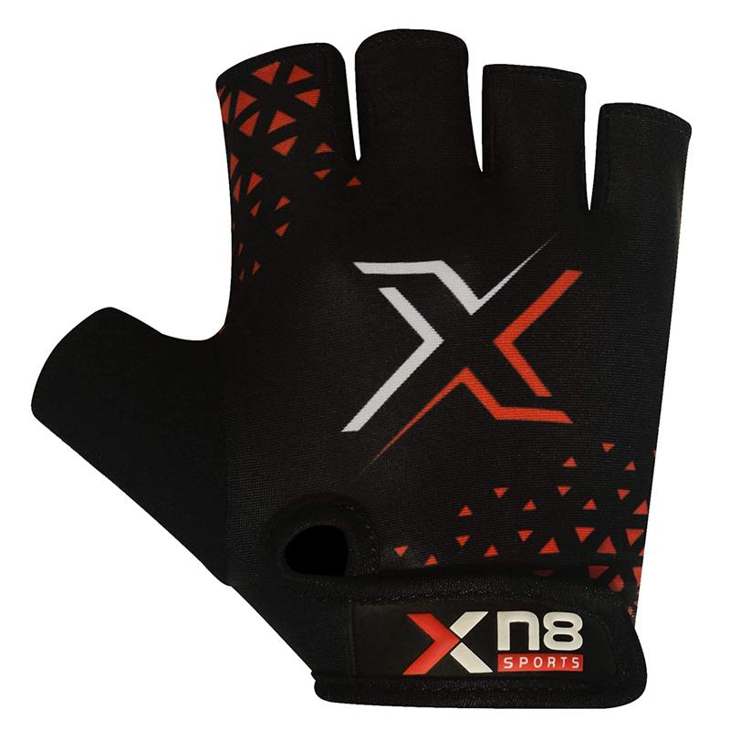 Xn8 Sports Weight Lifting Gloves Red.