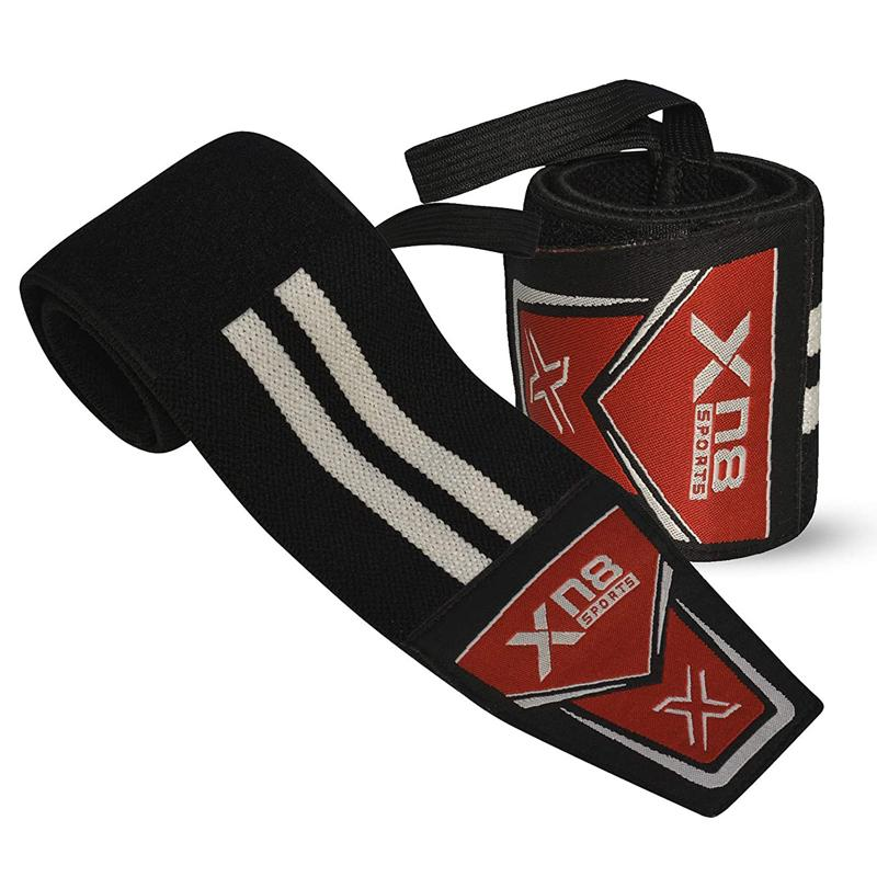 Xn8 Sports Weightlifting Wrist Support White