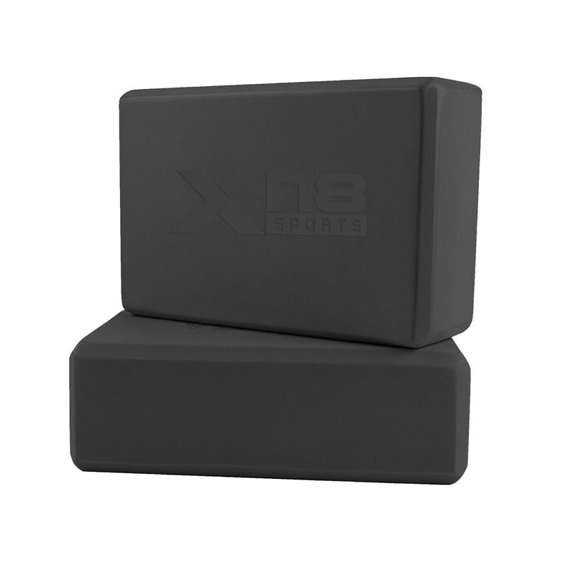 Xn8 Sports Yoga Blocks Black