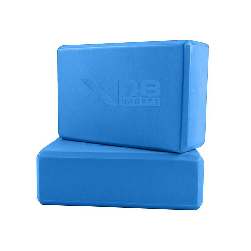 Xn8 Sports Eco Friendly Yoga Blocks Blue