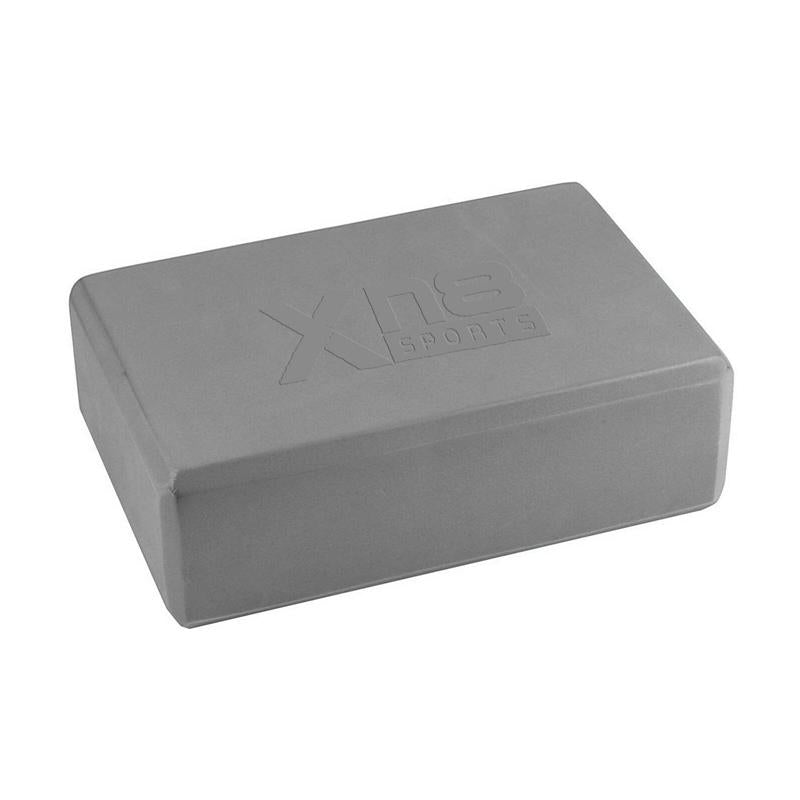 Xn8 Sports Yoga Block and Belt Grey