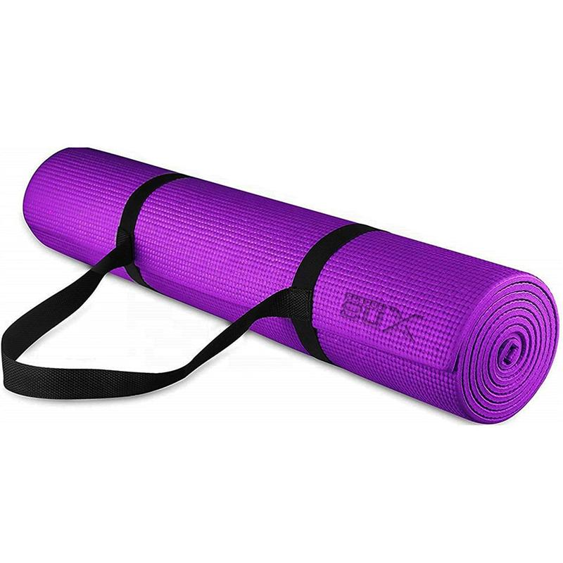 Xn8 Sports Padded Yoga Mat Purple