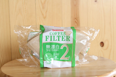 Bonmac No. 2 Bonded Bamboo Coffee Filters