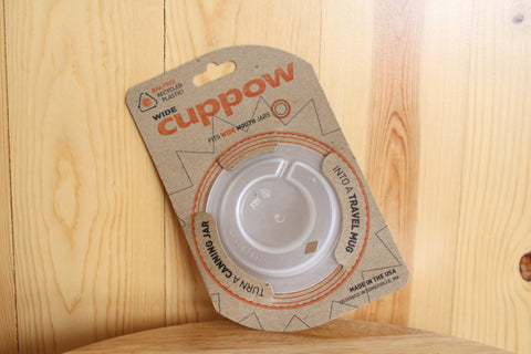 Cuppow Ball Jar Sip Cup Top