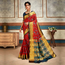 Load image into Gallery viewer, Pack Of 2 Kanjeevaram Silk Traditional Saree