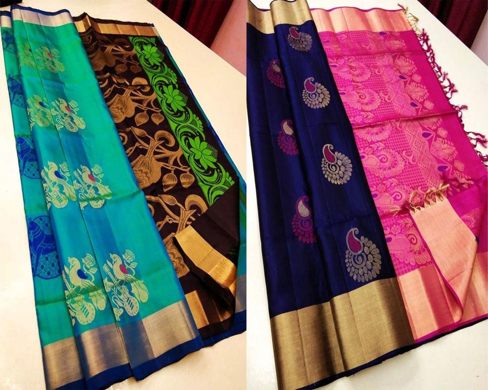 Summer Pack Of Banarasi Silk Saree!