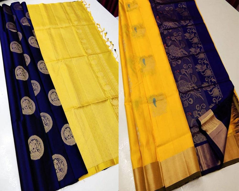 On Sale Offer Of Soft Silk Saree Pack!