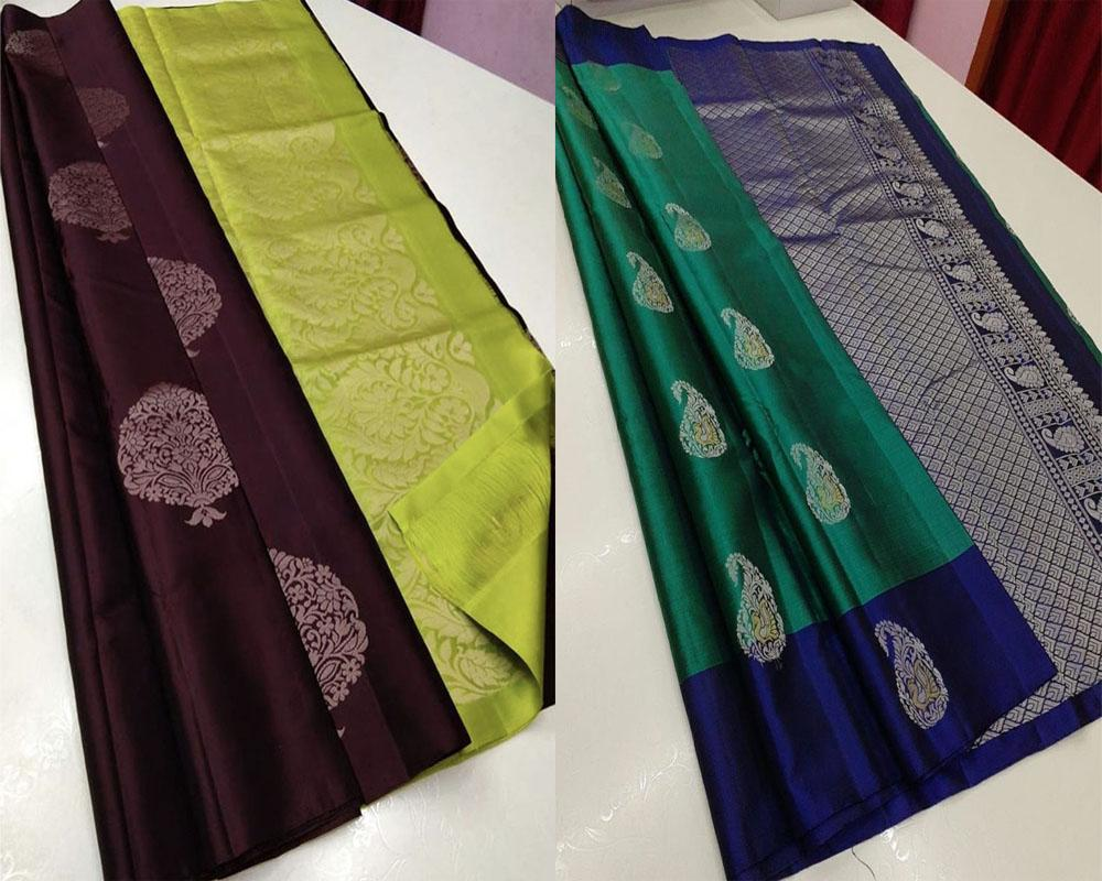 Best Quality Soft Silk Saree Pack Offer!