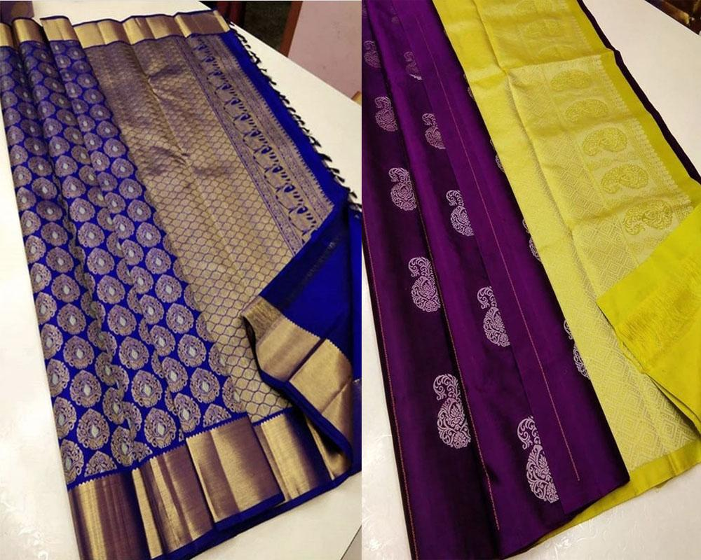 Best Collection Of Traditional Banarasi Soft Silk Saree Pack!