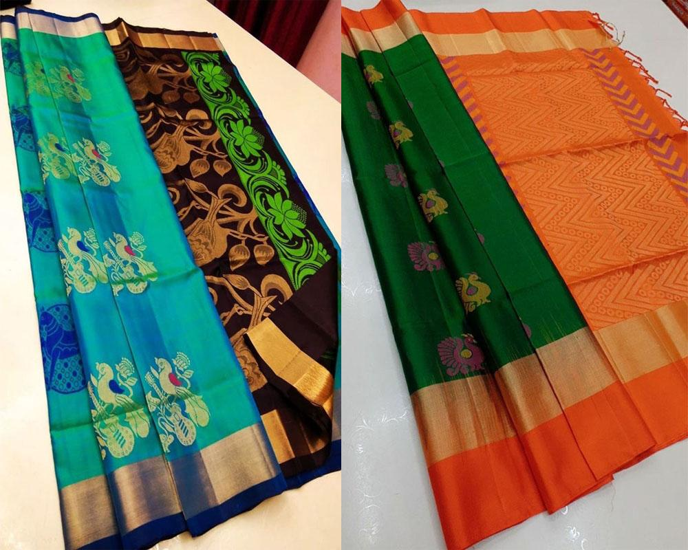 Soft Silk Banarasi Saree Pack!