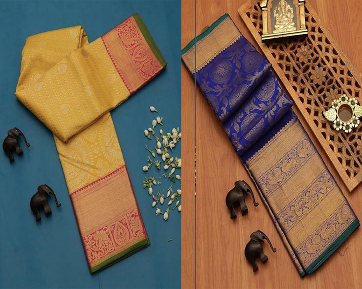 Fancy Design Silk Saree Pack Of 2
