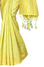 Load image into Gallery viewer, YELLOW JUMKHI and Prahee Pure Soft Cotton Silk