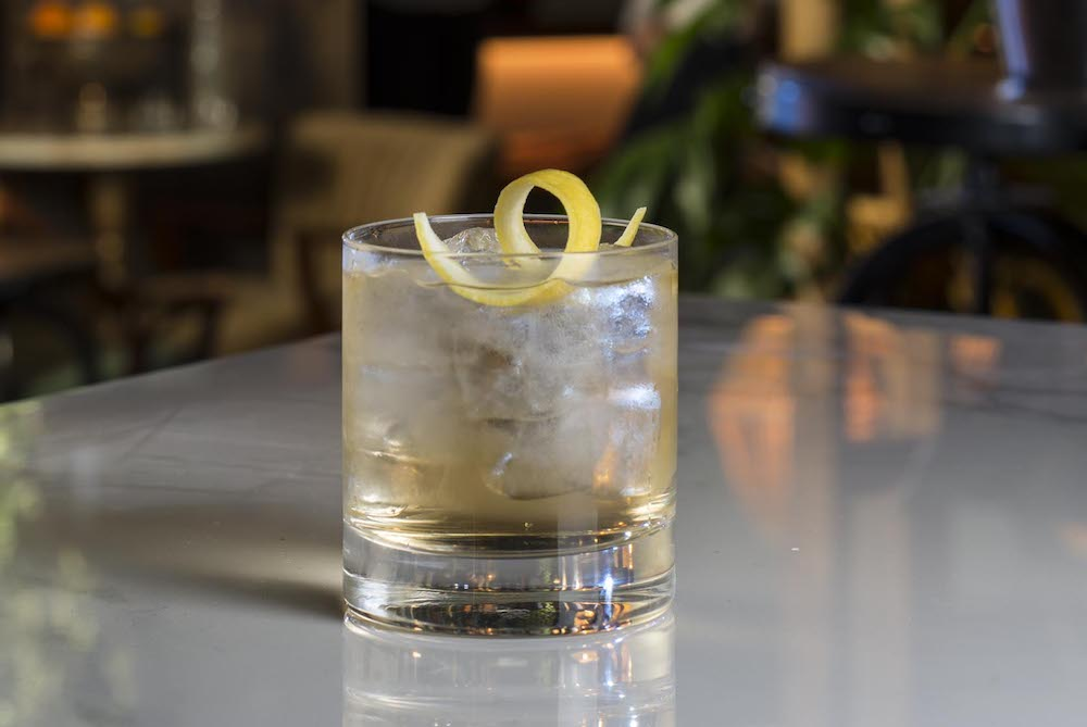 XECO Sherry Ginger Cocktail