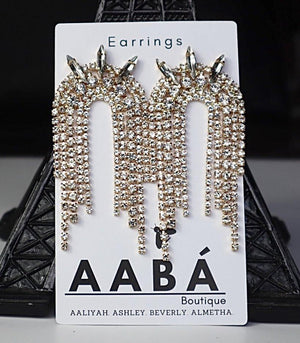Bee Fierce Earrings AABÁ Boutique