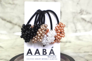 Honeycomb Hair Ties Hair AABÁ Boutique