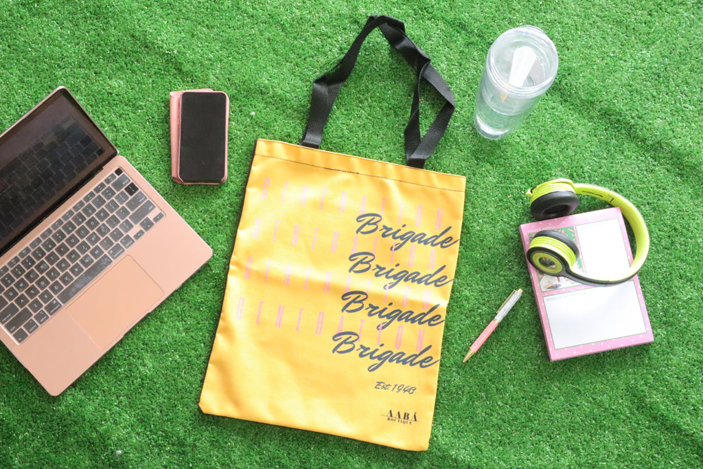 Generation Brigade Tote Bag- Yellow