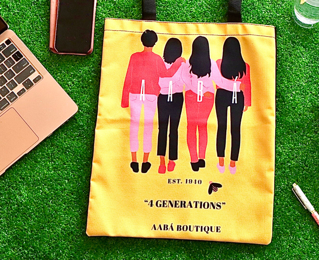 4 Women Tote Bag- Yellow