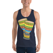 Load image into Gallery viewer, Classic tank top (unisex), Djembe