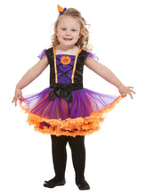 Load image into Gallery viewer, Toddler Pumpkin Witch Costume