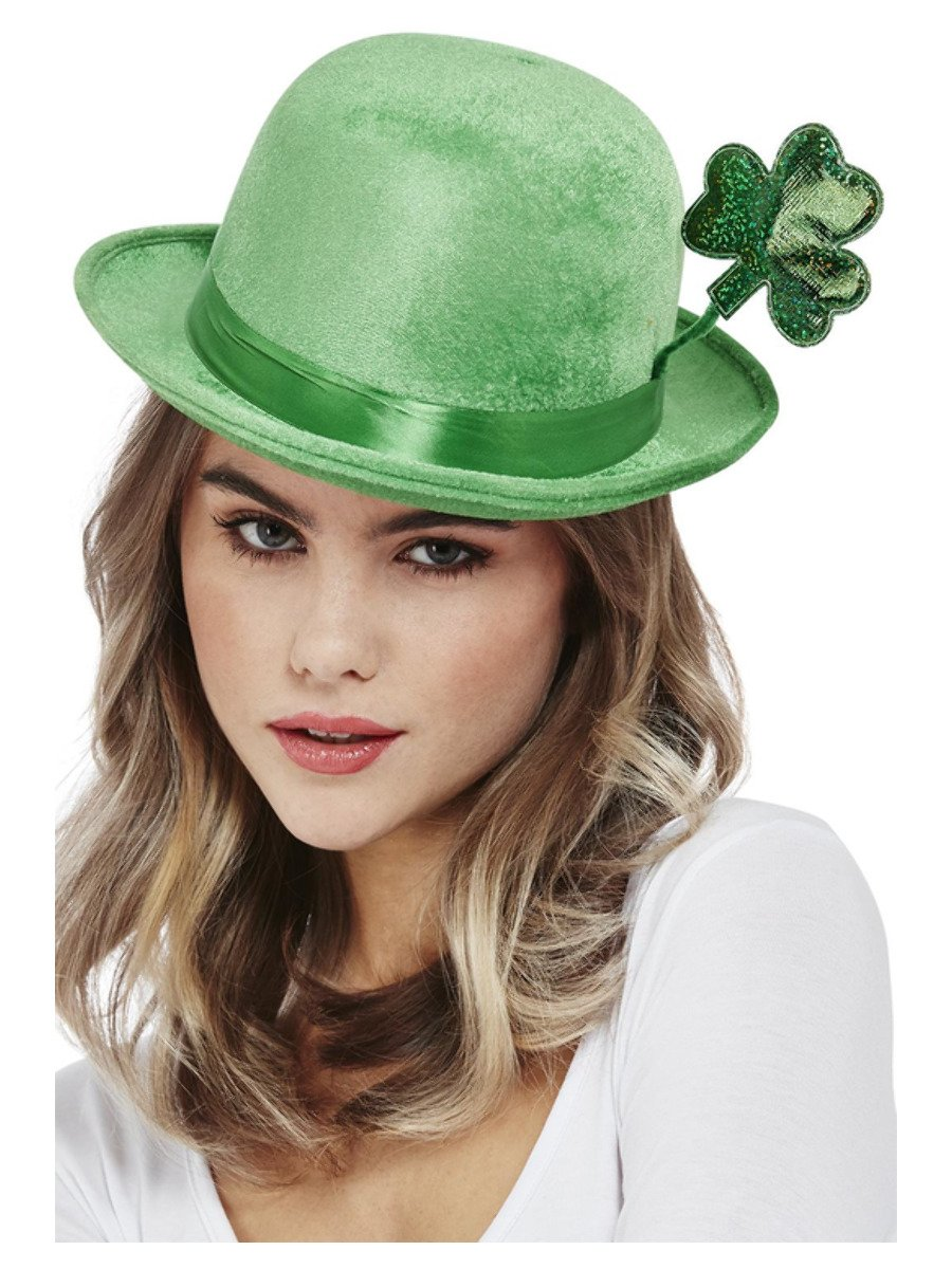 Deluxe Paddy's Day Bowler Hat