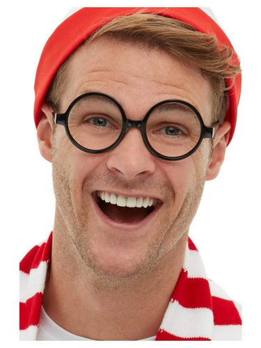 Where's Wally Glasses, Black