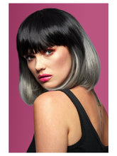 Load image into Gallery viewer, Manic Panic®Alien Grey™ Ombre Glam Doll Wig