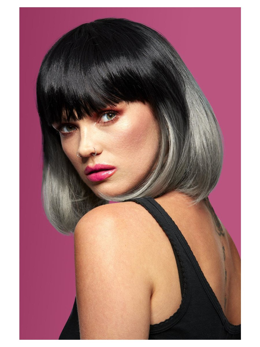 Manic Panic®Alien Grey™ Ombre Glam Doll Wig