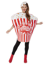Load image into Gallery viewer, Popcorn Costume, Red & White