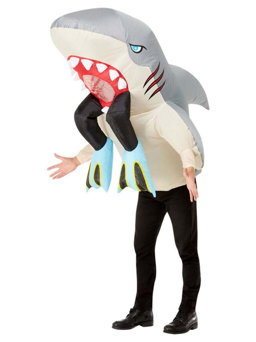 Inflatable Shark & Diver Costume