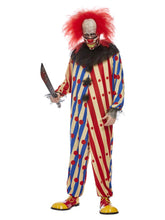 Load image into Gallery viewer, Creepy Clown Costume, Red & Blue