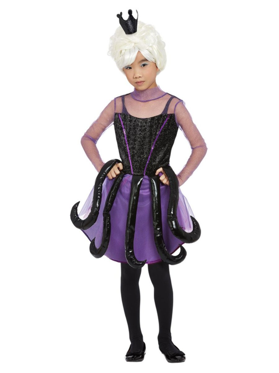 Girls Evil Sea Witch Costume