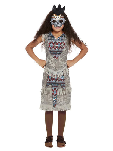Girls Dark Spirit Warrior Costume